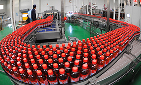 滚筒应用于饮料行业